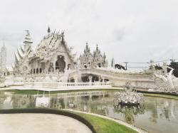 The White Temple, Chiang Rai, Thailand