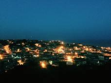 Cape Coast at night, Ghana