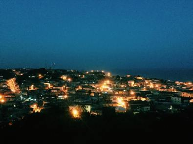 Cape Coast at night, Ghana