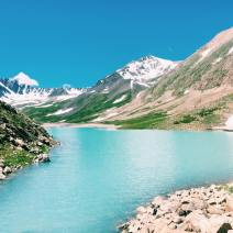 Green Lake, Mongolia