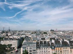 View from the Centre de Pompidou, Paris